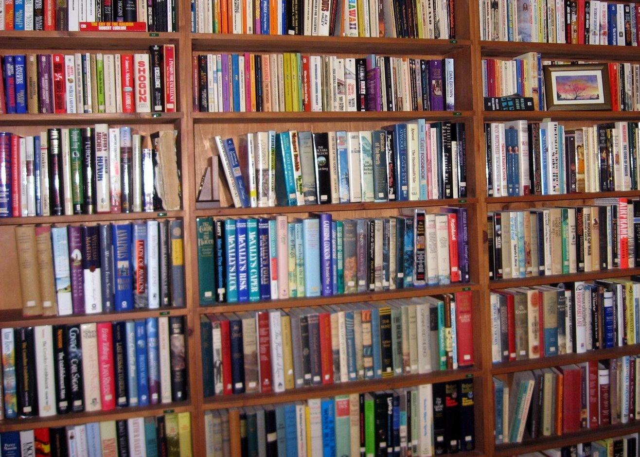 book shelves in Norwich